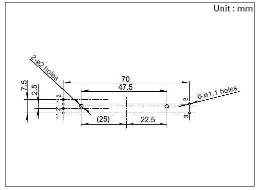 5 шт. 75 мм двойной B10K оригинальный B10KX2 Behringer микшер фейдер # Aug.26