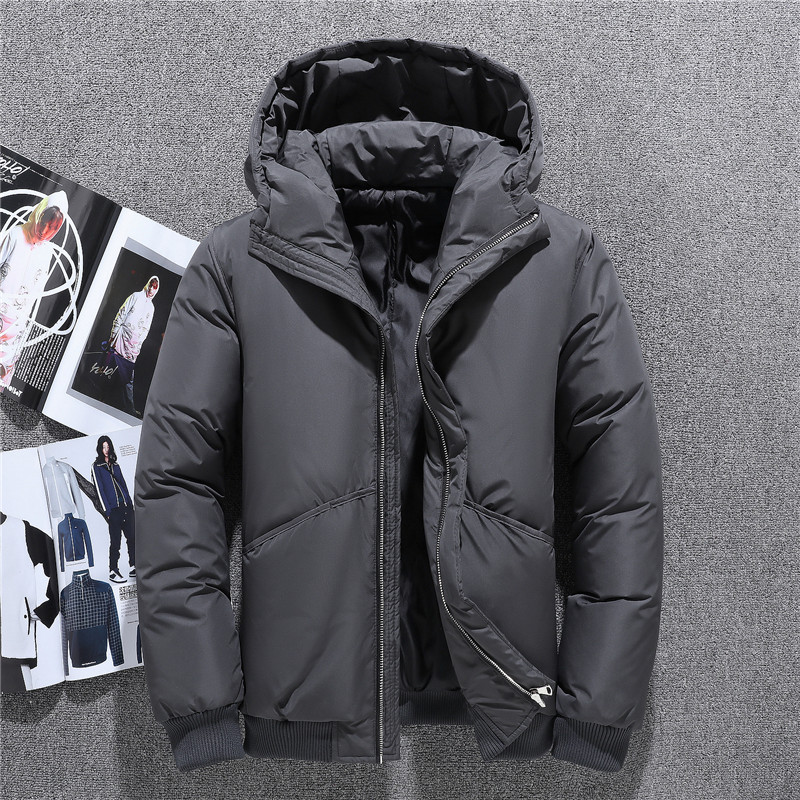 2019 Wholesale Men's Autumn Winter Jacket Tace & Shark Brand Cool   Coats   Hooded Windproof Duck   Down   Jacket Men Casual Male Parka