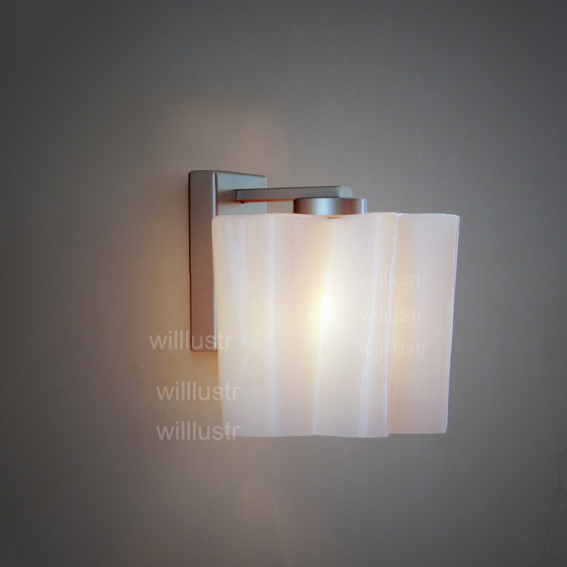 twist frosted milk glass shade wall lamp Logico wall sconce Lounge living doorway vanity light modern lamp white cloud lighting white glass ceiling lamp modern design frosted glass shade light home collection lighting bedroom foyer doorway cloud lights