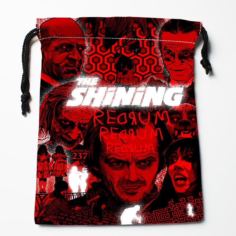 Hot Sale Custom The Shining  Drawstring Bags Custom Storage Bags Storage Printed Gift Bags More Size 27x35cm