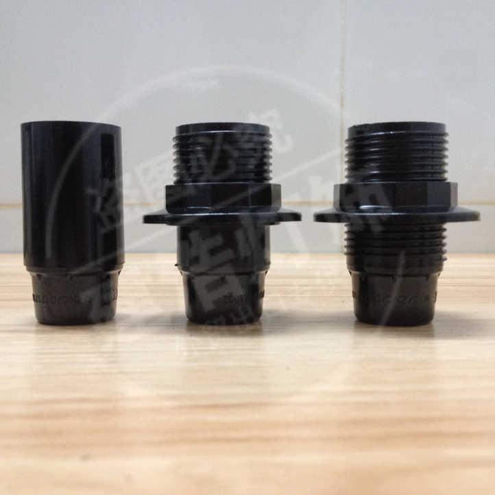 10 шт. CE E14 бакелитовый патрон сборная настольная лампа держатель лампа гнездо Винтаж промышленный Винтаж держатель лампы
