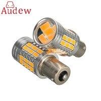 2 X Canbus BAU15S PY21W Error Free 1156PY Amber Yellow 36 LED 5730SMD 7507 Bulbs Indicator