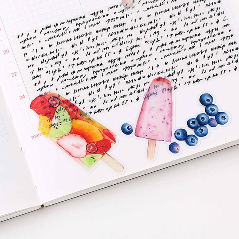 20 шт./упак. Еда лед кремовые наклейки Kawaii Наклейки для скрапбукинга для художественного оформления ногтей, ручная работа Журнал Дневник ремесло
