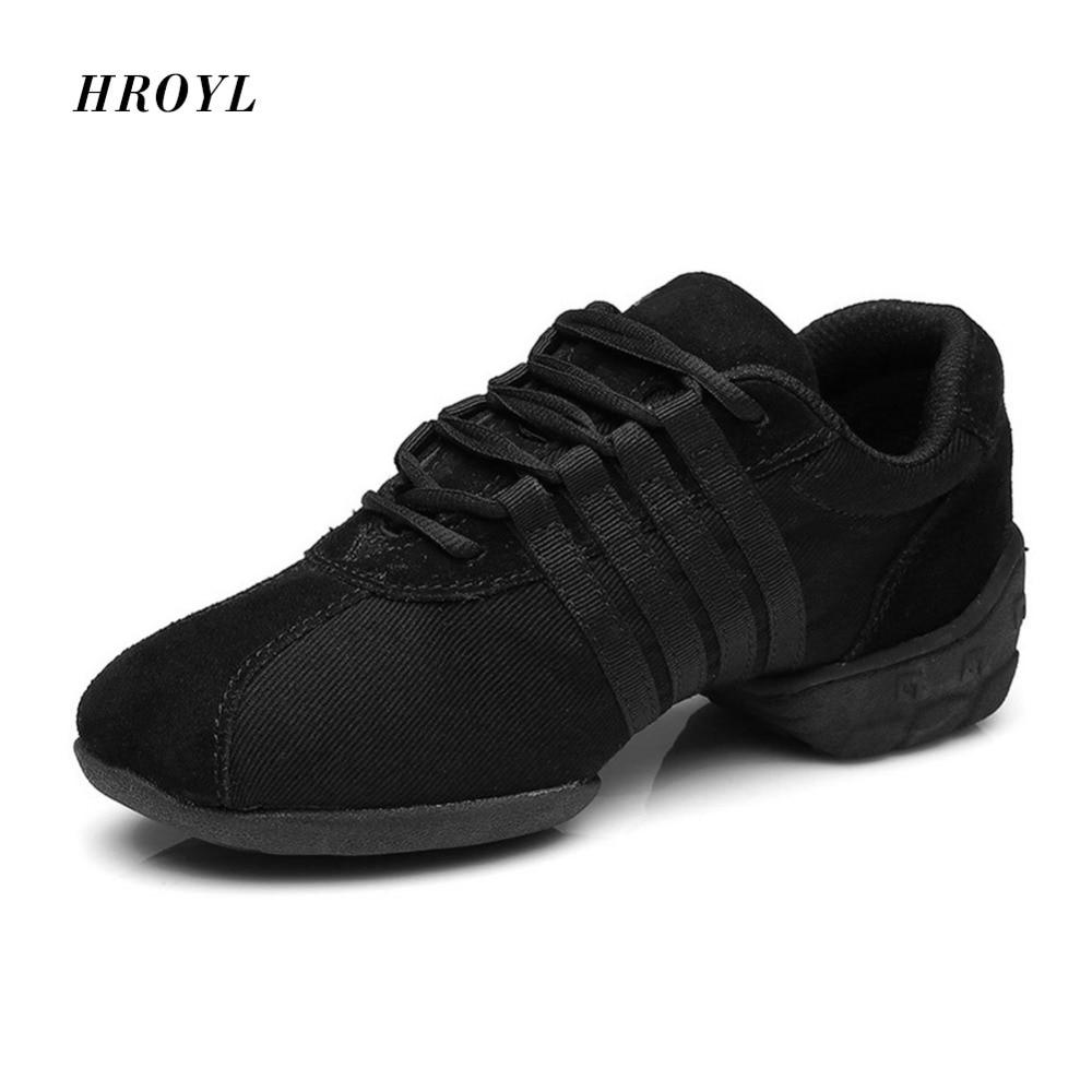 Nova oferta especial Marca Novo esporte Hip Hop Jazz Dança Moderna das Mulheres Sapatilhas Sapatos de Salsa frete grátis T01