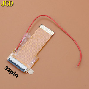 Image 2 - JCD Ersatz 32Pin 40 Pin Band Kabel Für Game Boy advance GBA AGS 101 Backlit Adapter Bildschirm Mod mit kabel