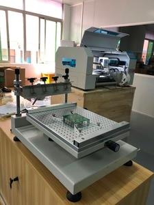 Image 3 - Free shipping High Precision 3040 Stencil Printer / SMT Manual Solder Paste Printer 3040 Charmhigh