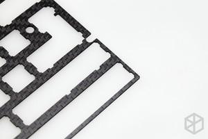 Image 5 - 60% アルミメカニカルキーボード炭素繊維プレートサポート xd60 xd64 3.0 v3.0 gh60 サポート分割スペースバー 3u スペースバー