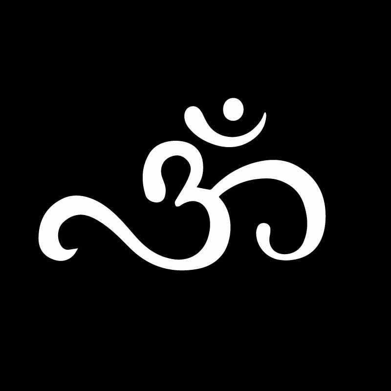 YJZT 15,1 см * 9,1 см символ шаблон настенное искусство духовная виниловая наклейка Графический автомобильный стикер Нежный черный/серебристый C27-0269