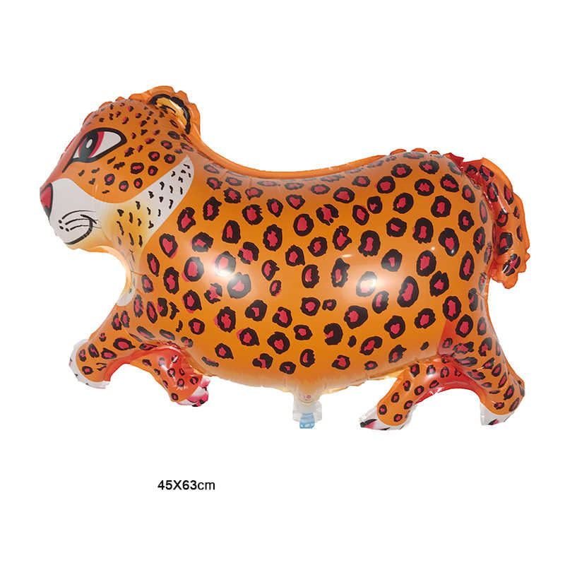 Frree shipping68 * 49 см Дешевые майларские воздушные шары leopard баллоны шаре Герой мультфильма животного shaped leopard воздушный шар для вечеринки на день рождения