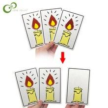 День рождения волшебные карты трюки для Begainner крупным планом уличное волшебство волшебный трюк Prop дети выполнять инструмент GYH
