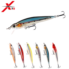 XTS Fishing Bait 90mm 9g Wobblers Fishing Hard Lure Topwater Floating Minnow Movable Lips Six Colors Fishing Lure Tackle 5339 набор значков love me акрил