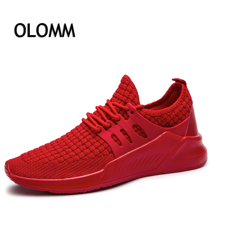 2018 New Fashion Mesh Slip-On Rubber Casual Shoes Men Spring Autumn Breathable Lightweight Sweat-Absorbant Comfortable Sneakers mycolen spring new high quality men s casual shoes fashion shoes men sweat absorbant comfortable soft adultos black men shoes