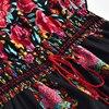 Summer Beach Maxi Dress Sexy V Neck Print Long Dresses 4