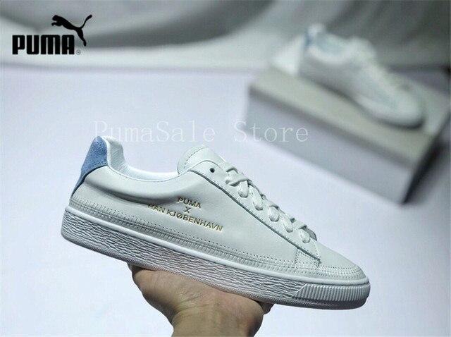 6db4a962385e PUMA Han Kjobenhavn x Puma Clyde Stitched Unisex Sneaker Men And Women  Badminton Shoes Leather Suede Retro Sneakers Size 35-44