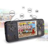 Встроенный 3000 игр Ретро ручной игровой консоли 3,0 Inch консоли Поддержка AV Выход для NEOGEO/GBC/FC/CP1/CP2/GB/GBA