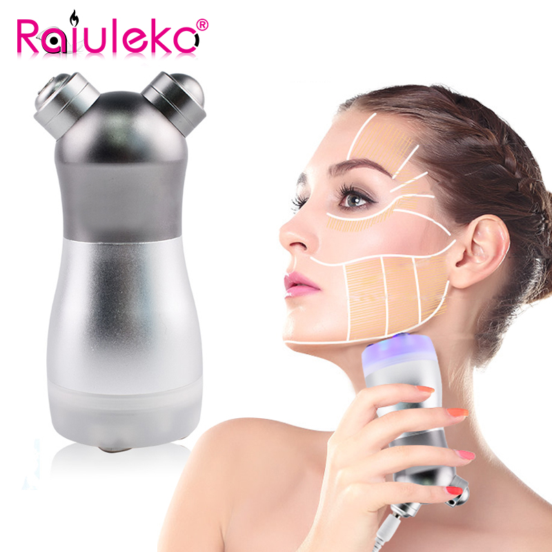 Portable Photon Facial RF Radio Frequency Machine Face Lift No Needle Mesotherapy Skin Care Body Slimming Device Remove Wrinkles skin care rf ems radio frequency electroporation needle free mesotherapy instrument mesoterapia facial mesotherapy needle device