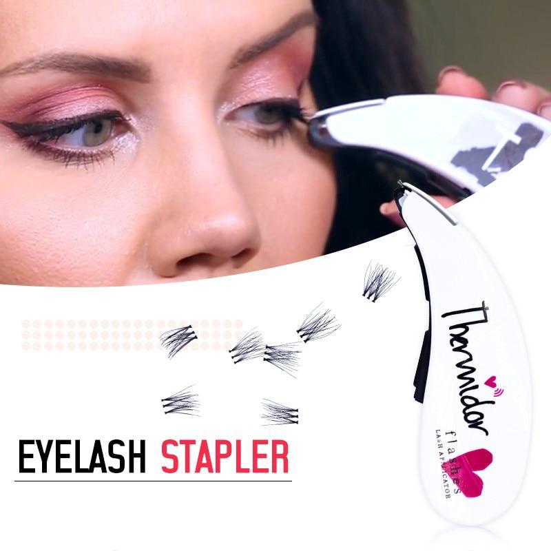 Tesoura de Maquiagem cruzadas Quantidade : 1 pc Flashes Lash Applicator