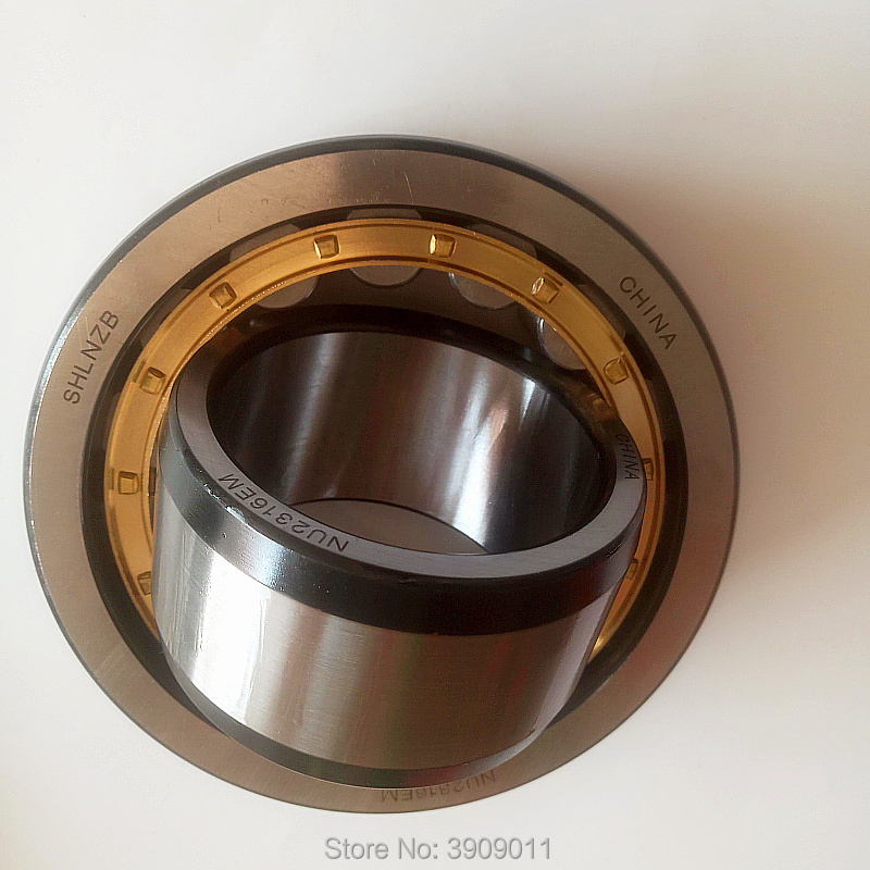 SHLNZB Bearing 1Pcs NU413 NU413E NU413M NU413EM NU413ECM 65*160*37mm Brass Cage Cylindrical Roller Bearings shlnzb bearing 1pcs nu1032 nu1032e nu1032m nu1032em nu1032ecm 160 240 38mm brass cage cylindrical roller bearings