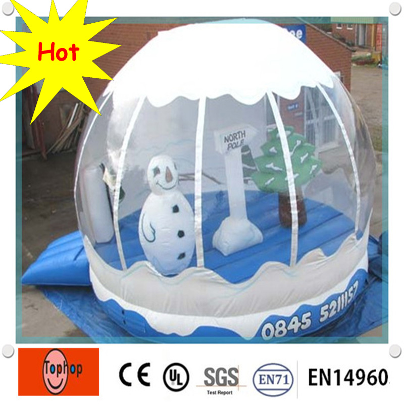 Hot New Christmas Snow Globe Cheap Snow Globe Giant Snow Globe With Customized Size For Christmas Decoration And Kids Fun In Inflatable Bouncers From Toys