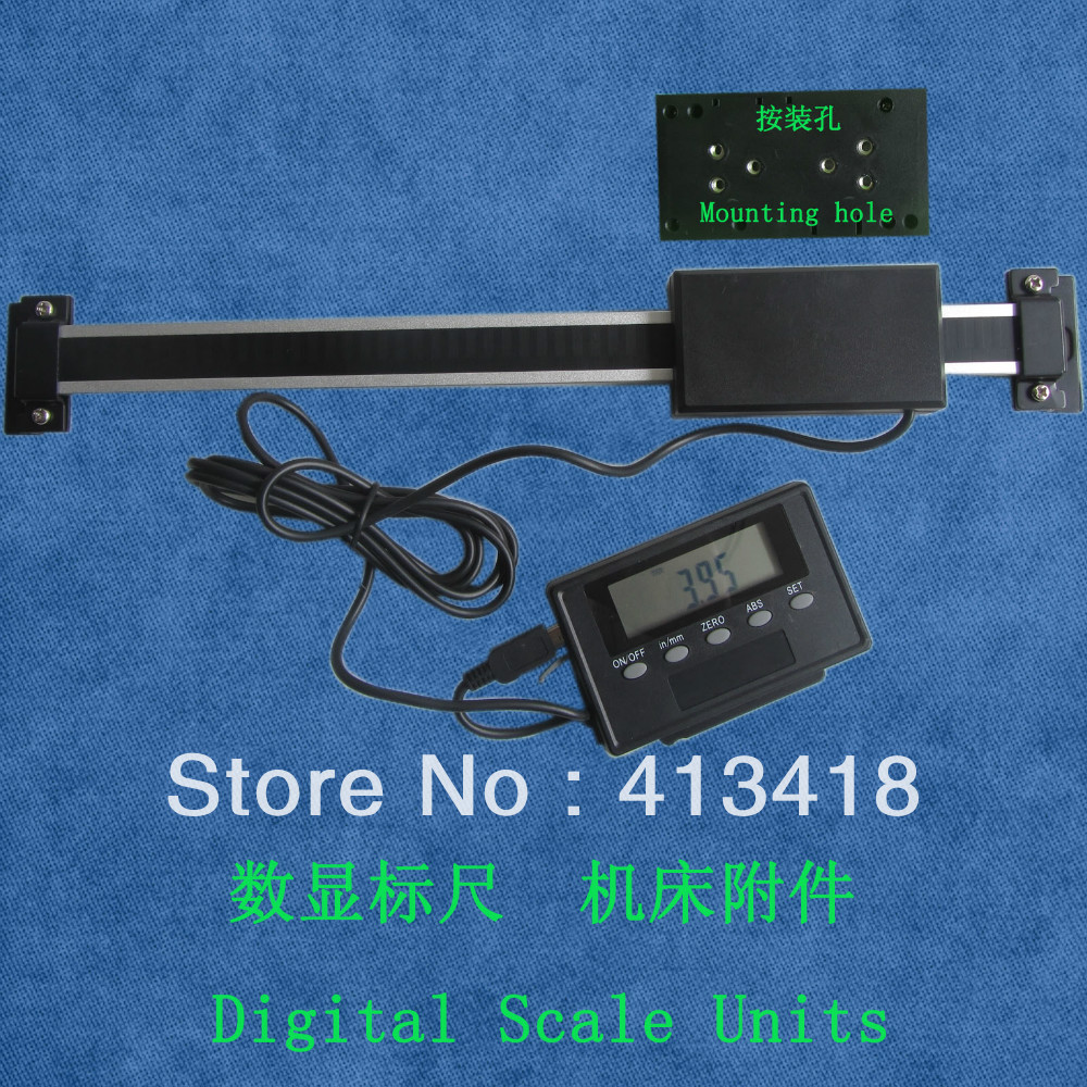 digital scales 0-200mm  0-8inchHigh Accuracy Remote Digital Readout digital linear scale  цены
