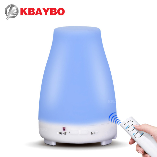 200ml Aroma Essential Oil Diffuser Remote Control ultrasonic air Humidifier aromatherapy Cool Mist maker fogger for Home