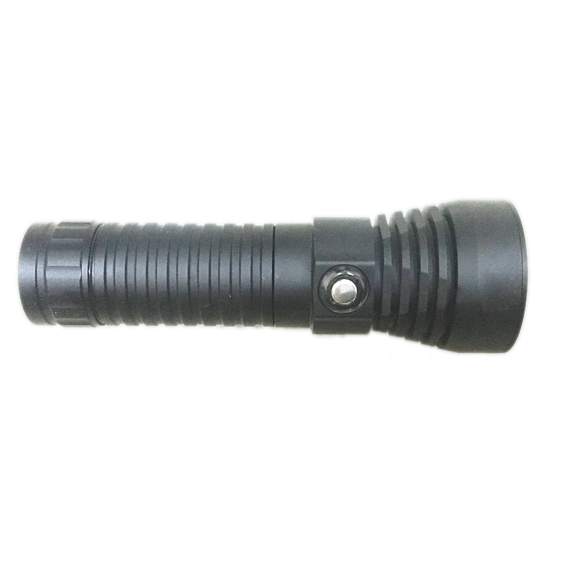 New New LED L2 Underwater Underwater Search Outdoor Camping Waterproof Charging 26650 Diving Flashlight