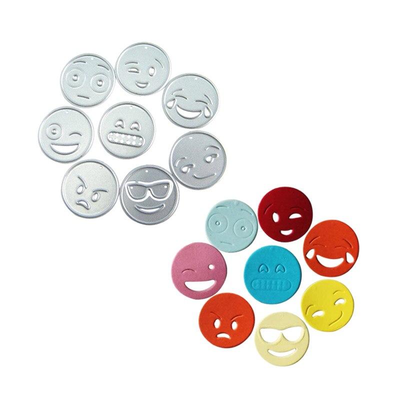Troqueles de corte de metal muere Emoji para scrapbooking die die set - Artes, artesanía y costura