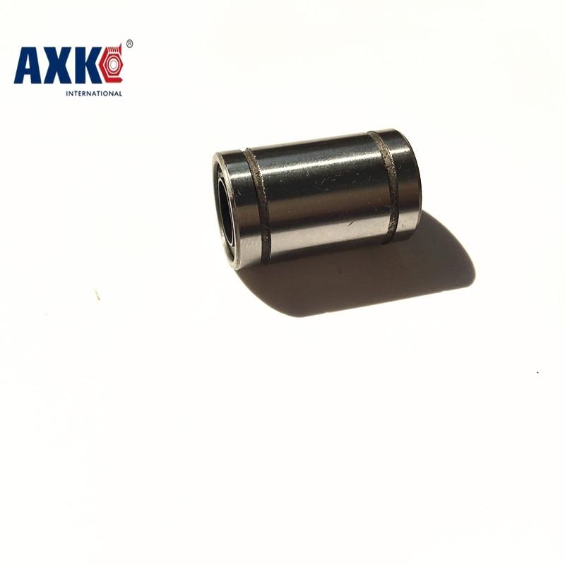 AXK 3D Printer LM8UU LM10UU LM12UU LM16UU 8mm 10mm 12mm 16mm Linear Bushing LB CNC Linear Bearings hot sale 1pc lm12uu linear bushing 12mm cnc linear bearings