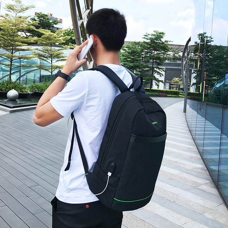 Male Backpack External USB Solar Charge for Laptop Backpack 16 inch Multifunction Waterproof Business bag Travel Solar Backpack multifunction charge