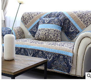 Attractive 2015 NEW Europea Style Fashionable Cotton Sofa Cover Colourful