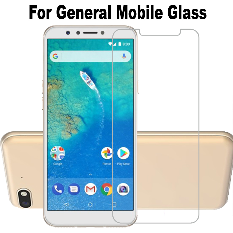 9H Tempered Glass for General Mobile GM 8 Go 9 Pro 6 5 Plus GM5 GM6 GM8 9H High Quality Protective Film Screen Protector(China)