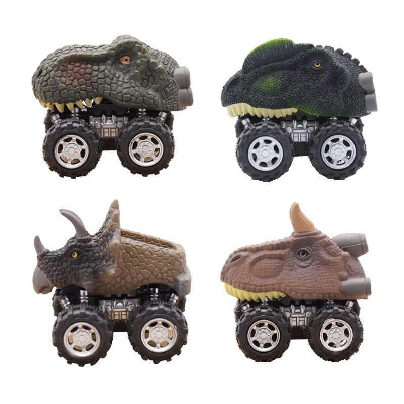 Puxar Para Trás Do Carro Mundo Jurássico Dinossauro Modelo de Carro Crianças Brinquedos Do Bebê Brinquedo Crianças Carro de Brinquedo Carro Carro Die-casting presentes 1 Peça TOY141