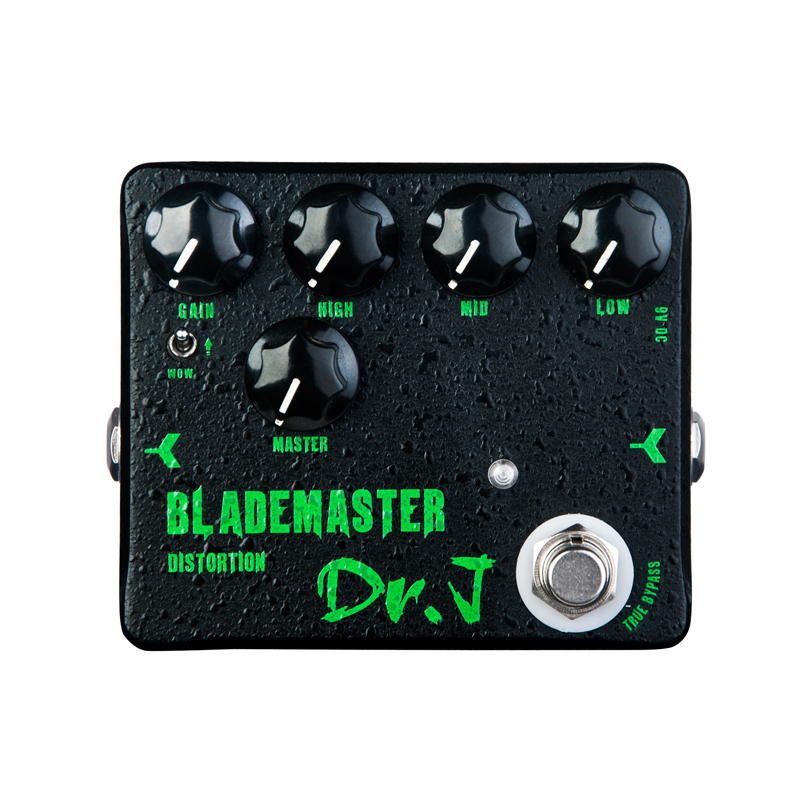 Купить с кэшбэком JOYO Dr.J D58 Blade Master Guitar Effect Pedal high-gain distorion pedal designed for metal solo True Bypass Design