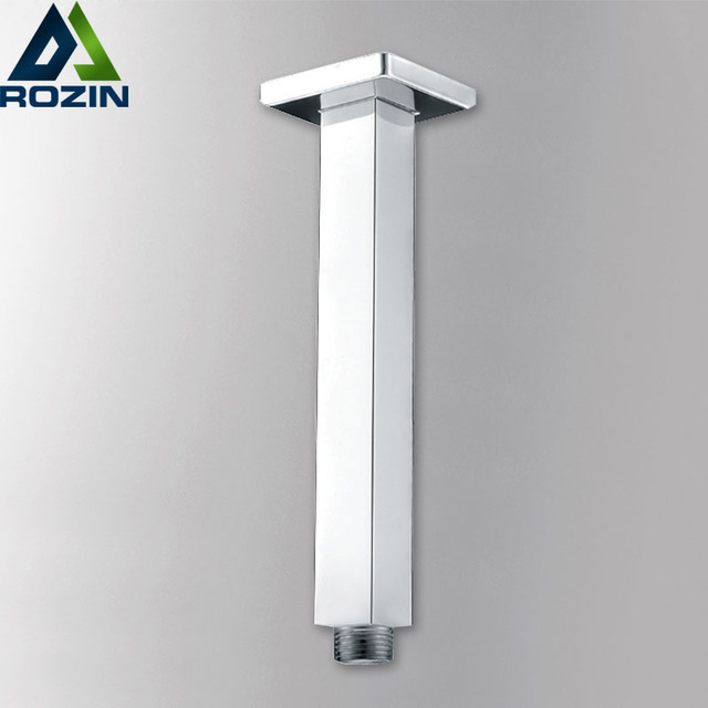 Free Shipping Shower Faucet Fix Arm Chrome Brass Wall Ceiling ...