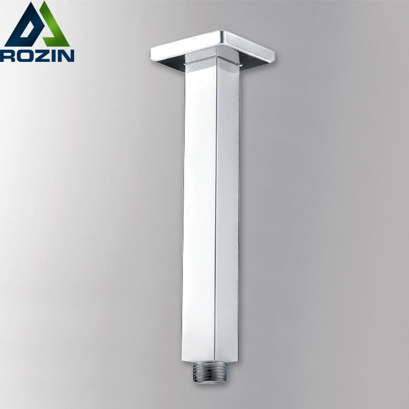 Free Shipping Shower Faucet Fix Arm Chrome Brass Wall Ceiling Mounted Shower Arm Pipes