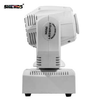 Good Price Mini Spot 60W LED Moving Head Light With Gobo Plate&Color Plate,High Brightness 60W Mini Led Moving Head Light DMX512