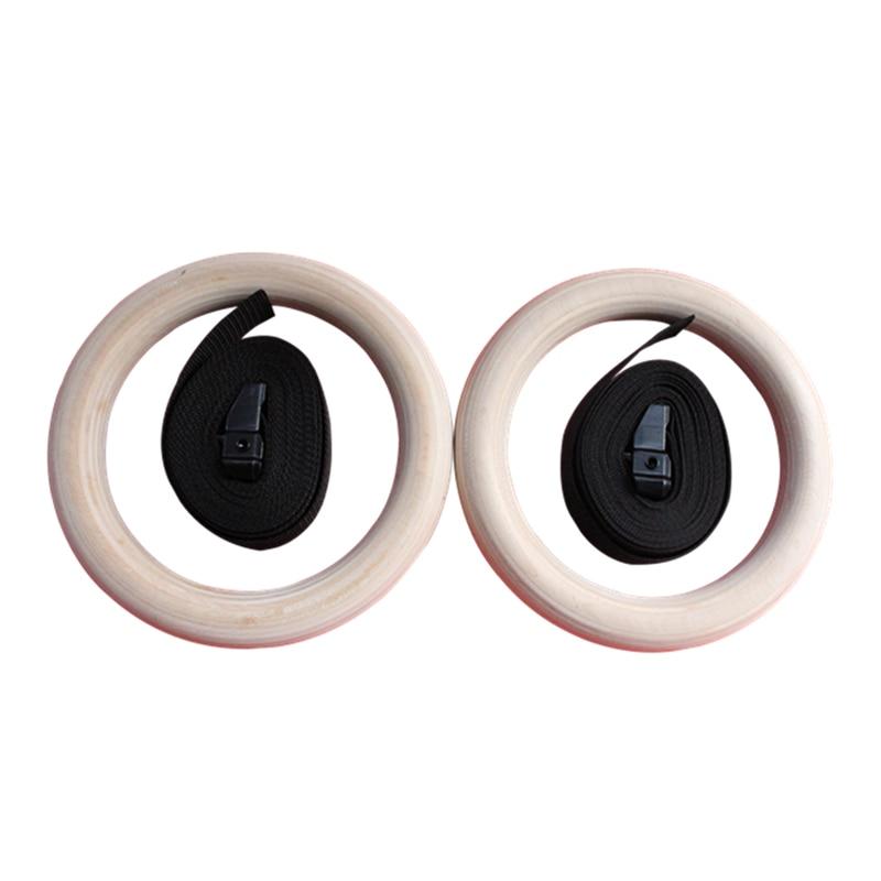 1 пара новые деревянные 28 мм упражнения фитнес гимнастические кольца для тренажерного зала упражнения Кроссфит подтягивания мышцы Ups спортивные гимнастические кольца