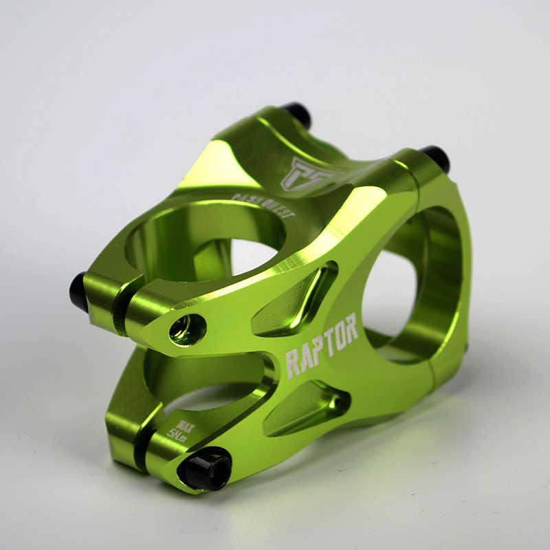 Mountain Bicycle MTB Bike Ultra-light 31.8//35mm Handlebar Stem Shockproof Bland