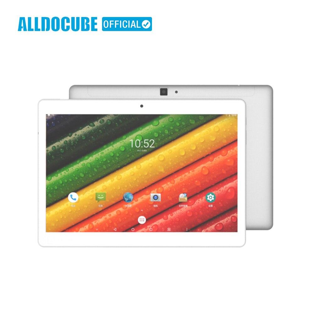 ALLDOCUBE 10.1 Polegada 2560*1600 IPS 4G Phone Call Tablet PC Android 8.0 MTK X20 Deca núcleo 4 GB de RAM GB ROM GPS WIFI Phablet M5 64