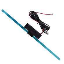 Auto Car Antenna Booster Windshield Mount Car Electronic AM-FM Radio Signal Amplifier Antenna Aerial with Self Adhesive