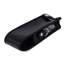 Extended Leather Soft Case Holster for Baofeng UV-5R 3800mAh Two Way Radio FM TYT TH-UVF9 TH-F8 TH-UVF9D Walkie Talkie UV 5R