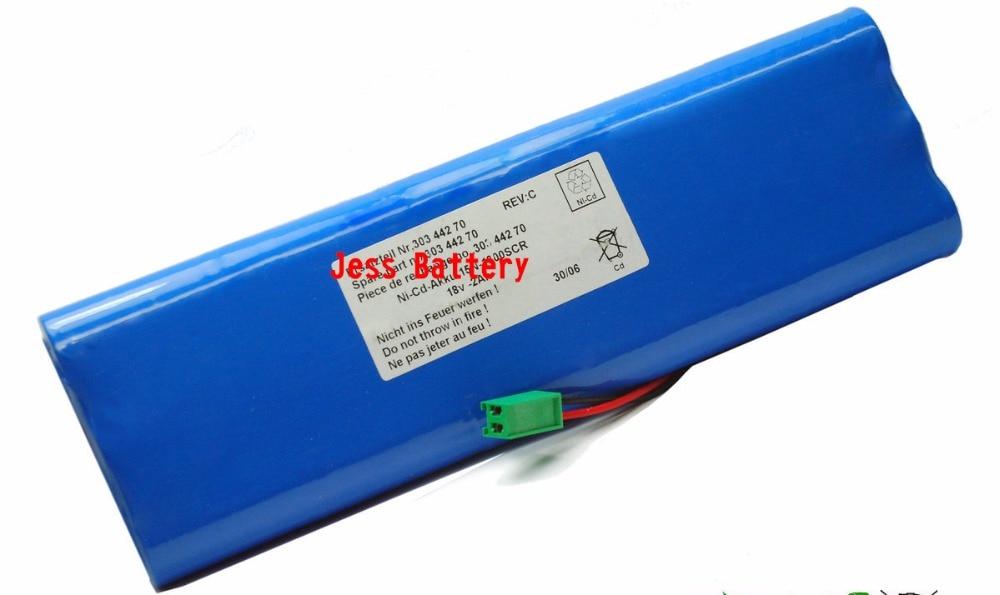 3000mAH New Electrocardiogram (ecg) battery for GE Marquette Mac1200ST MAC1200ST MAC1000 MAC1100 303-442-70 303 44270