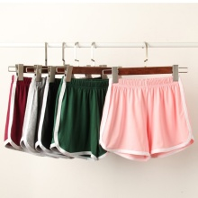 hot deal buy women's casual shorts high waist shorts exercise running shorts plus size 5 candy colors