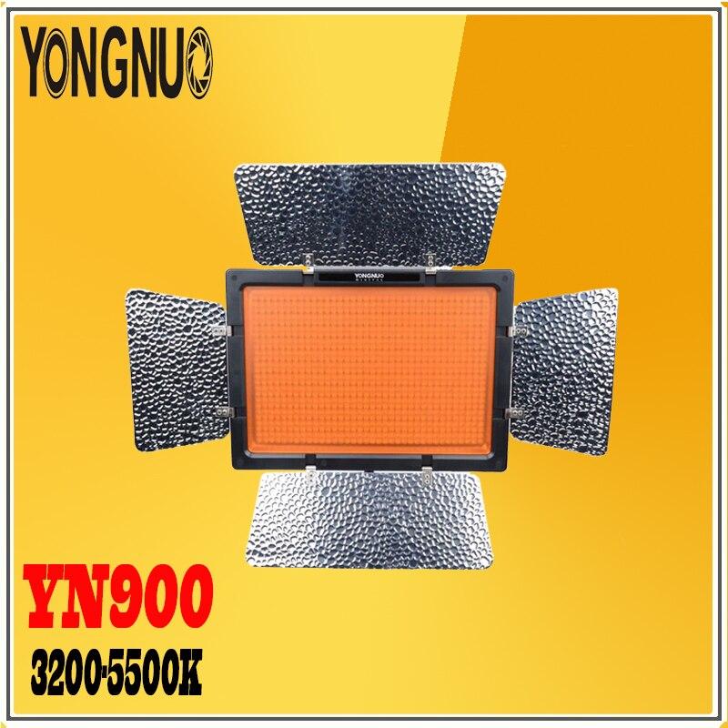 <font><b>YONGNUO</b></font> YN900 <font><b>900</b></font> <font><b>LED</b></font> bi-Цветовая температура и регулируемая яркость 3200-5500 К беспроводной фотографической лампы для Canon фотокамеры Nikon