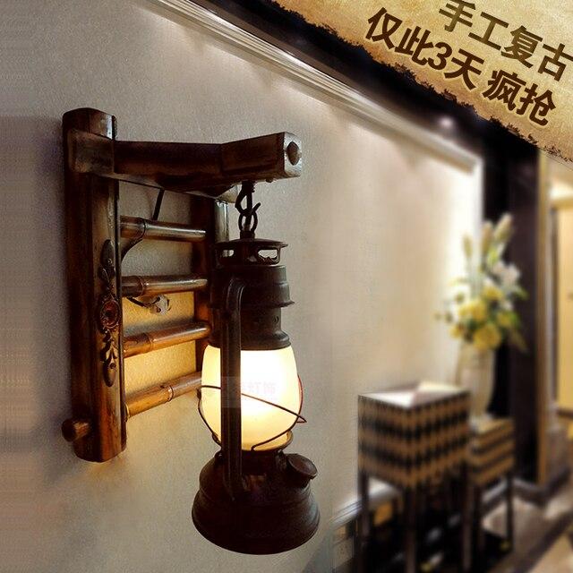 Antieke wandlamp vintage woonkamer slaapkamer bedlampje LED ...