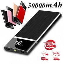 Внешний аккумулятор 50000 мАч портативный внешний аккумулятор большой емкости зарядное устройство Внешний аккумулятор