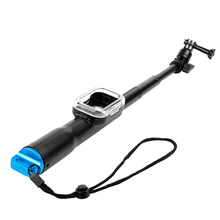 39″ Handheld Extendable selfie stick Monopod with Wifi Remote Housing for Gopro Hero 5/4/3+/3/HERO+LCD/4 Session Cameras