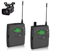 DSLR Камера видеокамеры микрофон аудио Регистраторы Беспроводной микрофон для зеркальной цифровой для наружного Запись интервью видео съем