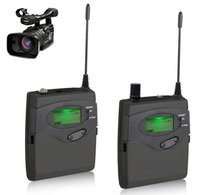 DSLRกล้องไมโครโฟนไร้สายสำหรับกลางแจ้งบันทึกสัมภาษณ์ถ่ายภาพวิดีโอDVแบบพกพา, EW100 EW 100-ENG G3, ew 122จุดG2