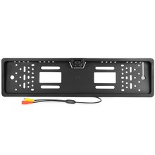 2016 New Arrival 170 European Car License Plate Frame Auto Reverse Rear View Backup Camera 4 LED Universal CCD Night Vision